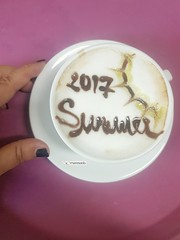 Benvenuta Estate! (maresaDOs) Tags: cafè caffeart summer estate colazione it italia cappuccino breakfast café da manhã2 cafédamanhã desayuno