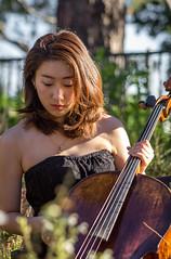 Joanne -- the Von Quartet (Robert Borden) Tags: cello cellist woman candid musician goodlight vonquartet socal california cali westcoast usa northamerica canon canonusa canonphotos canonphotographer