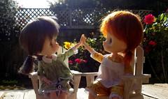 Yay, it's Summer!!  ~  High Five!! (TutuBella) Tags: jerryberrydolls prim fig summersolstice summer begins highfive