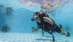 18 21a (KnyazevDA) Tags: diver disability disabled diving undersea padi paraplegia paraplegic amputee egypt handicapped wheelchair aowd sea travel scuba underwater redsea