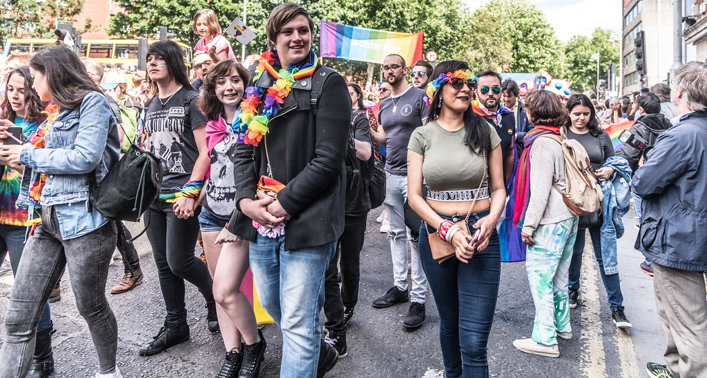 LGBTQ+ PRIDE PARADE 2017 [ON THE WAY FROM STEPHENS GREEN TO SMITHFIELD]-130162