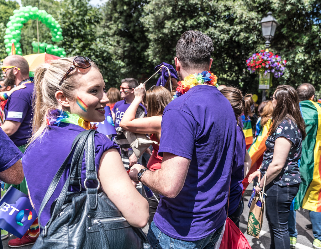 LGBTQ+ PRIDE PARADE 2017 [STEPHENS GREEN BEFORE THE ACTUAL PARADE]-129909