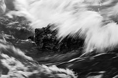 El principio de todo. (J. Javier Nerín.( Busy. Training orcs.)) Tags: flow water sea blur