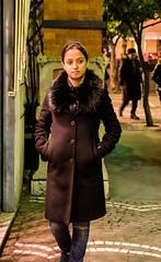Aparna : Sorrento (Niren175) Tags: aparna street sorrento night portrait italy pedestrian way winters evening local