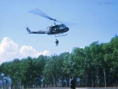 2Lt Ray Shillabeer - Vietnam Deployment, 1971 (Teutonic01) Tags: 3rar southvietnam raaf royalaustralianairforce uh1 iroquois huey helicopter