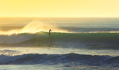 The Surf Feeling (Jop Hermans Photography) Tags: sunset wave waves surfphotography surf surfing surfer jophermans sunrise wavephotography ocean watershot water seaside lonely free feeling