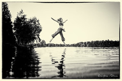 Danse sur l'eau (Pose Emotions) Tags: portrait type