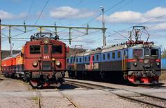 Da 889 + Dm3 1212 (MTAB/LKAB) - Kiruna - 2006/06 (zugknipser) Tags: schweden norrbottenslän kiruna erzbahn dm3 da hilfszug eisenbahn