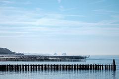 The Dutch coast (Wouter de Bruijn) Tags: fujifilm xt1 fujinonxf90mmf2rlmwr sea coast water nature landscape dunes beach contrast outdoor boat ship breaker westkapelle walcheren zeeland nederland netherlands holland dutch northsea ocean blue haze
