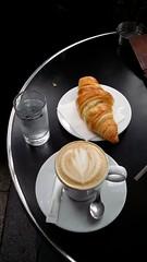 (Stuart Frost) Tags: paris croissant cafe au lait