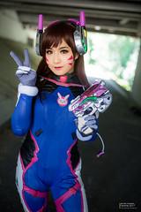 IMG_9180-2 (moshitea) Tags: dva cosplay overwatch cosplayer fanime fanime2017 コスプレ コスプレイヤー