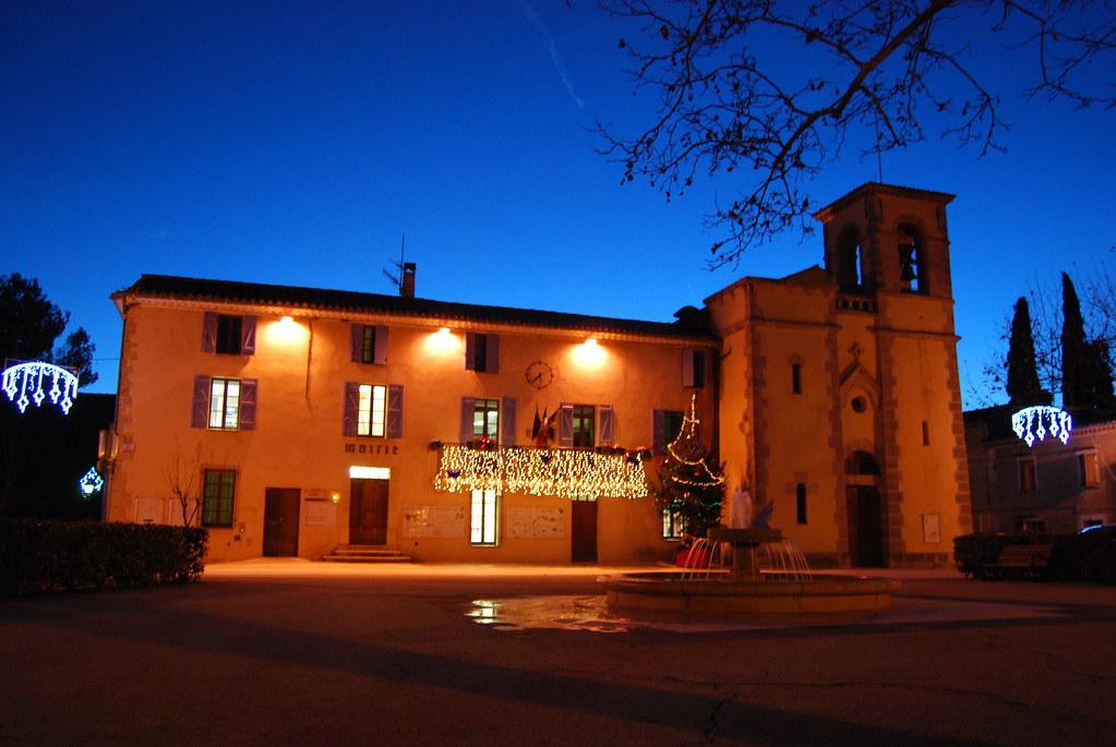 Illuminations de Noël de la Mairie