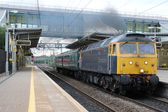 Rail Operations Group 47812 (Liam Blundell Photography) Tags: rail operations group rog class 47 47812 liverpool south parkway freight 5m59 allerton depot leicester br old train barrier coaches clag thrash 319424