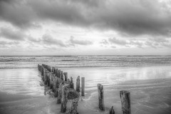 Shades of grey (blavandmaster) Tags: canon christiankortum eos6d 24105 2017 perfect sky 6d sea hemel vand wolken denmark landscape zonsondergang vesterhavet colours harmonic sand plage beautiful incredible jylland dunes blåvand sonnenuntergang nordsee white see photomatix handheld strand sable hdr monochrome ciel danish seascape eos zand noordzee paysage kust nuages water interesting processing sommer awesome eau light dänemark april landschaft himmel mèrdunord jütland zee avril denemarken danmark clouds blavand coucherdesoleil complete happy black northsea