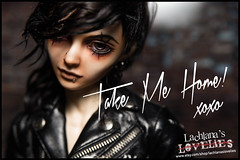 Milo - Emo Rocker (Lachlana Light) Tags: balljointdoll bjd custom faceup forsale lachlana unitedstates luts wintery