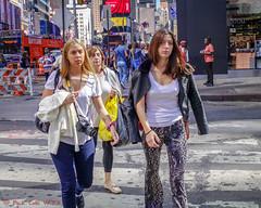 Skyline (ViewFromTheStreet) Tags: allrightsreserved bigapple blick blickcalle blickcallevfts calle copyright2017 manhattan nyc newyork newyorkcity nikon photography stphotographia streetphotography timessquare viewfromthestreet amazing candid classic crosswalk female girl jacket leggings skyline street tights vftsviewfromthestreet woman ©blickcallevfts ©copyright2017blickcalle