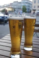 ビール (lulun & kame) Tags: europe ヨーロッパ ポルト ビール portugal ポルトガル porto beer lumixg20f17