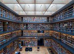Books books books (rainerralph) Tags: bibliothek books deutschland buecher weimar omdem1markii germany library annaamalianeubau bücher architecture objektiv714 architektur
