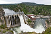 Long Lake Dam Along Spokane River (Carolyn H. - Travel & Nature Photographer) Tags: forested forest trees landscape water dam river spillway outdoors outdoor nikon d5500