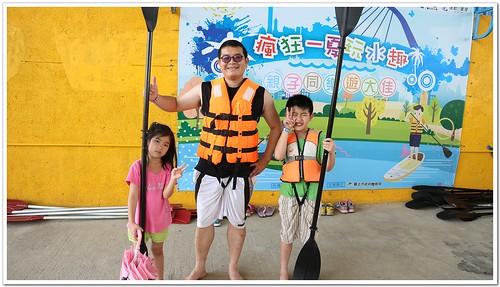 《幸福行》瘋狂一夏玩水趣 親子同樂遊大佳‧獨木舟SUP免費體驗(至8/13)