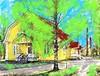 Vanhoja työväen puuasuintaloja Varkaus Kommila IMG_0073 (Timo Heinonen) Tags: photo art varkaus varkaudenkaupunki warkaus easternfinland finland taidevalokuvaus taide