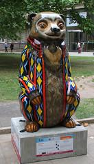 Dreamcoat (ahisgett) Tags: birmingham children's hospital charity wild art big sleuth 2017 bearmingham bear