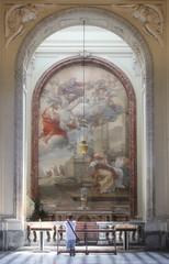 Prayer (lindseygrafe) Tags: rome italy church prayer kneeling chapel cathedral praying pray renaissance art artwork italian calm spiritual tranquil roma