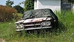 Hidden Corvair (robgividenonyx) Tags: kentucky franklincounty corvair cheverolet aircooled rusted ruraldecay hidden