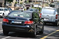 Mercedes-Benz E-Klasse - Switzerland, diplomatic plate (Helvetics_VS) Tags: licenseplate switzerland geneva diplomaticplate cambodge