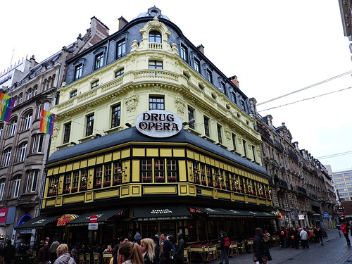 Drug Opera, Rue des Fripiers, Brussels