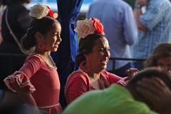 People at Feria del caballo (Lanzen) Tags: jerez feriadelcaballo feria festa party festival people traditional gipsy dress celebration festivity flower head hat flamenco child woman family