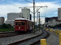 A ride along the Riverwalk (st_asaph) Tags: riverwalk neworleansstreetcar tram streetcar rta nola neworleans