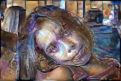 Visions in Ostagram (cirooduber) Tags: ostagram digitalart childs abstractart visualart oniric digitalarttaiwan awardtree