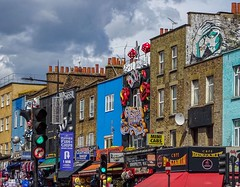 Camden (Navelsboy) Tags: eyeemlostinlondon buildingexterior architecture builtstructure text sky cloudsky communication outdoors humanrepresentation day lowangleview multicolored city traveldestinations nopeople roadsign london camdentown beautiful cityscape citylife citystreet red