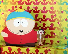 2016-Carman & Friend Outside SDCC-01 (David Cummings62) Tags: sandiego ca calif california comiccon con david dave cummings southpark animated series tvseries cartoonnetwork sets outside carman