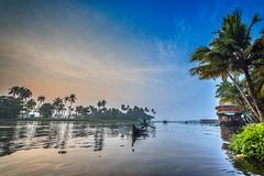 Backwater Mornings (Well-Bred Kannan (WBK Photography)) Tags: alleppey backwaters kerala boatinghg boat boating water wbk kannan kannanmuthuraman wbkphotography