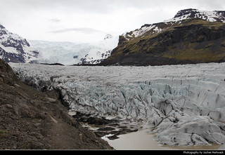 Svínafellsjökul Glacier, Öræfajökull, Iceland