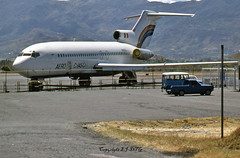 Boeing 727-027 N129CA Air Chasqui (EI-DTG) Tags: planespotting aircraftspotting sjo mroc sanjose boeing boeing727 b727 ttailboeing trijet n129ca airchasqui aerochasqui