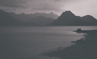 Black Cuillins from Elgol