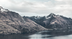 Lake Wakatipu - New Zealand (Max Pa.) Tags: new zealand newzealand landscape canon 5d 2470mm neuseeland queenstown lake wakatipu mountains mountain berg berge see snow winter clouds landschaft view nature natur water