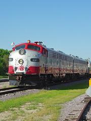 WSOR 10C, Janesville 5/18/2007 (AndyWS formerly_WisconsinSkies) Tags: train railroad railway railfan wisconsinandsouthern wsor emd e9 e9a eunit locomotive