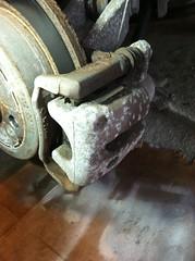 MINI Cooper Clubman caliper before (Ernesto  Vumbles) Tags: mini cooper brake caliper paint