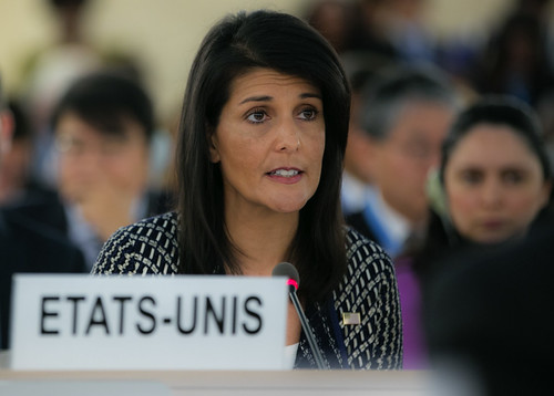 From flickr.com: Ambassador Nikki Haley Addresses the U.N. Human Rights Council {MID-134065}