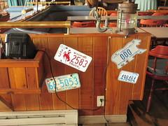 Old Plates (jamica1) Tags: protection island nanaimo bc british columbia canada dinghy dock pub