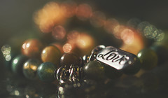 friendship (rockinmonique) Tags: eleven 11 52in52 macro jewellery bokeh warm love friendship reflections golden yellow orange green moniquew canon canont6s copyright2016moniquewphotography