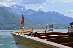 Comme un air de Riviera (Thierry.Vaye) Tags: annecy lac savoie bateau bois montagne vedette