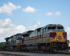 Lackawanna Railroad Locomotive #1074 (Fred Watkins (kg4vln)) Tags: kg4vln nikon d70s railroad railfans elbertadepot warnerrobins georgia