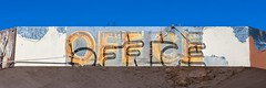 Modern office (A Different Perspective) Tags: arizona holbrook usa broken motel neon office sign text wall worn