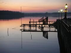 Calm Evening (Von Noorden her) Tags: sundown sonnenuntergang water wasser sea pond binnenwasser neustadt holstein boat boot boote wolken cloud clouds wolke schatten shadows night nacht abend evening