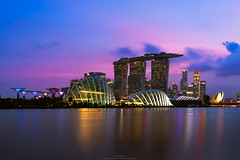 Sweet Singapore. (Brook Attakorn BK) Tags: architecture arts asia asian bay blue boat building buildings business city cityscape coast country day district dusk entertainment estate evening famous financial high landmark landscape lights location malay malaysia marina metropolis modern morning night panorama peninsula place port real rises river scene scenery scenic science singapore skyline tourism travel view